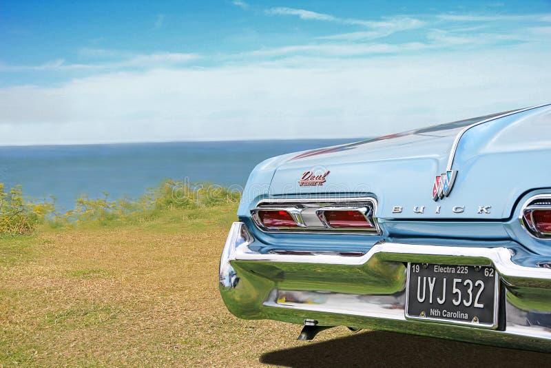 Amerykański buick rocznika klasyka samochód obraz royalty free