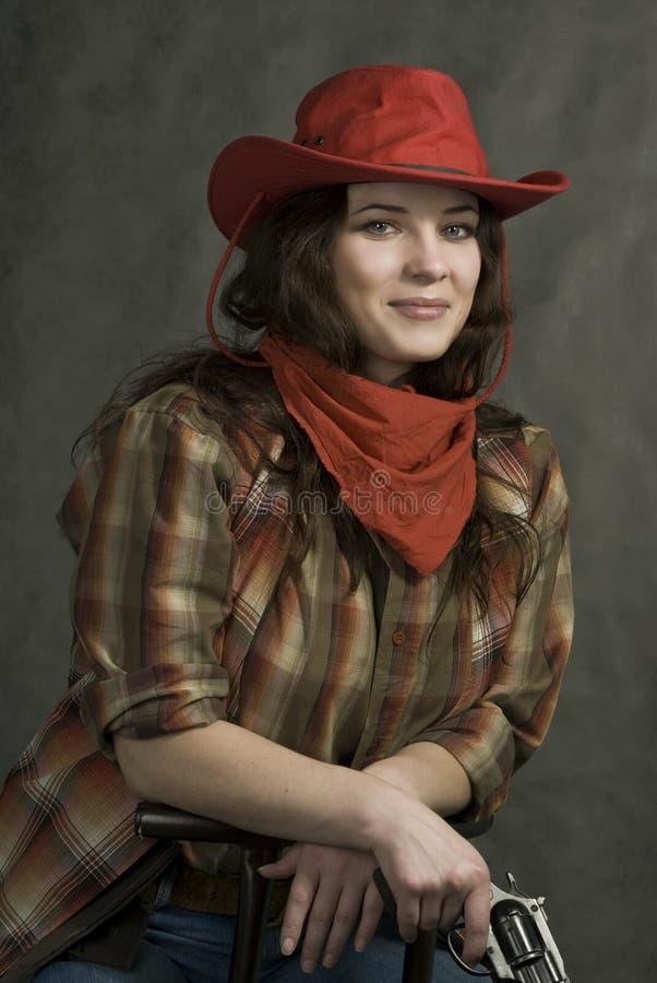amerykański cowgirl obrazy stock
