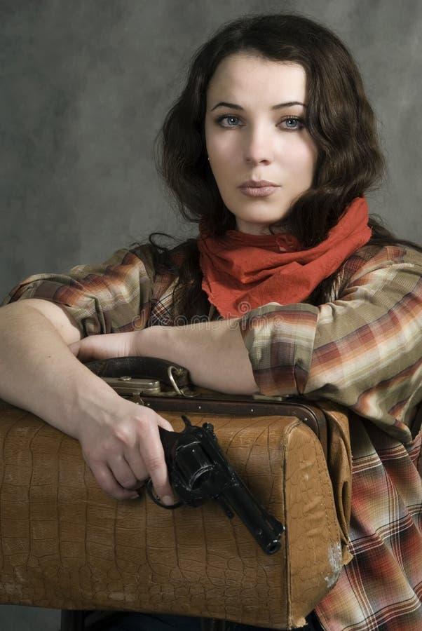 amerykański cowgirl zdjęcie royalty free
