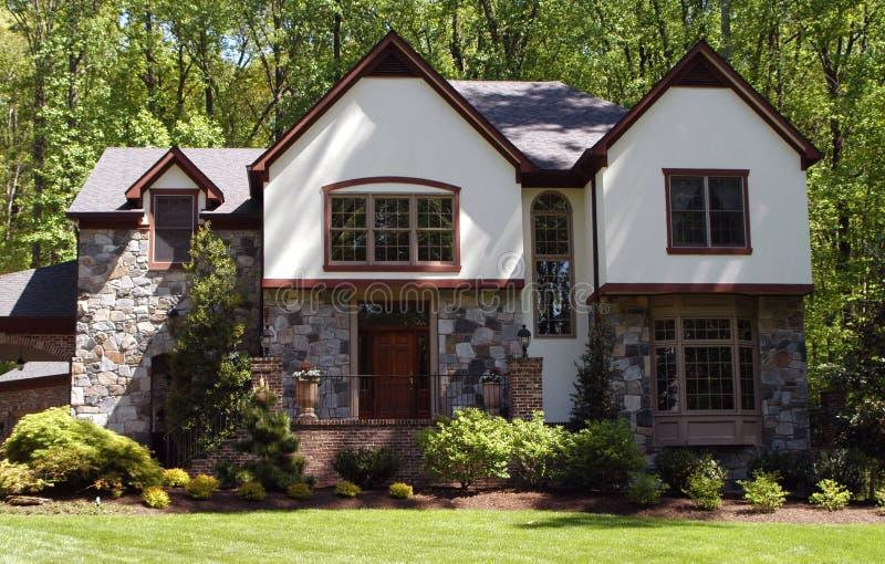 amerykański dom obrazy royalty free