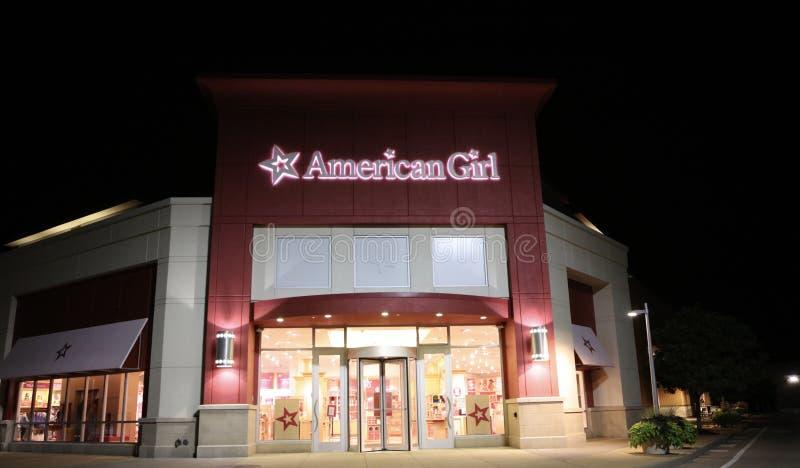 Amerykański dziewczyny lali sklep, St Louis, MO obraz stock