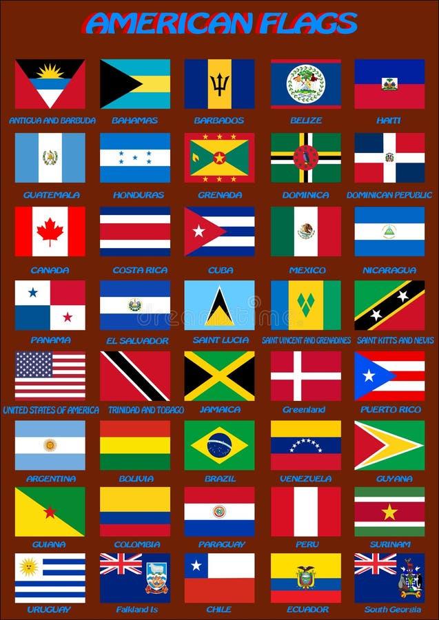 amerykański flagę również zwrócić corel ilustracji wektora ilustracji