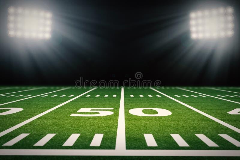 amerykański futbol pola