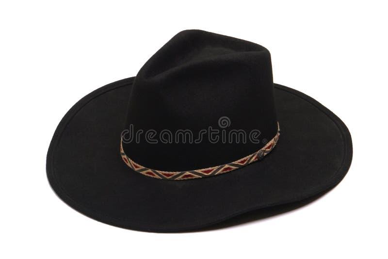 amerykański kapelusz kowbojski rodeo na zachód w izolacji white obrazy royalty free