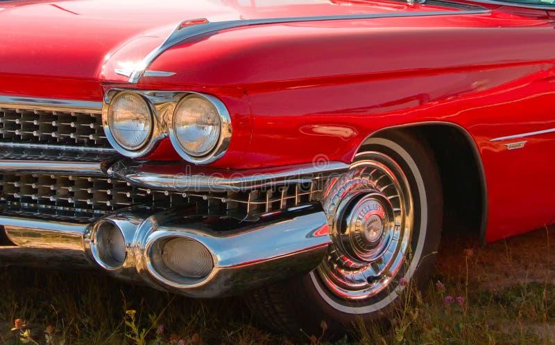 amerykański klasyk samochodowy z bliska obrazy royalty free