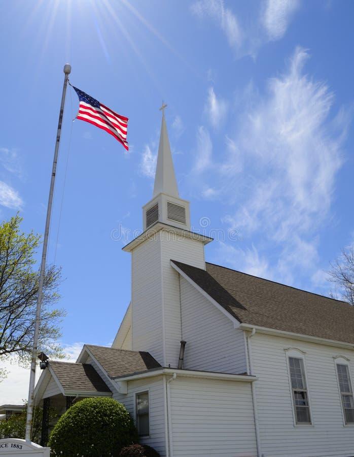 Amerykański kościół zdjęcie royalty free