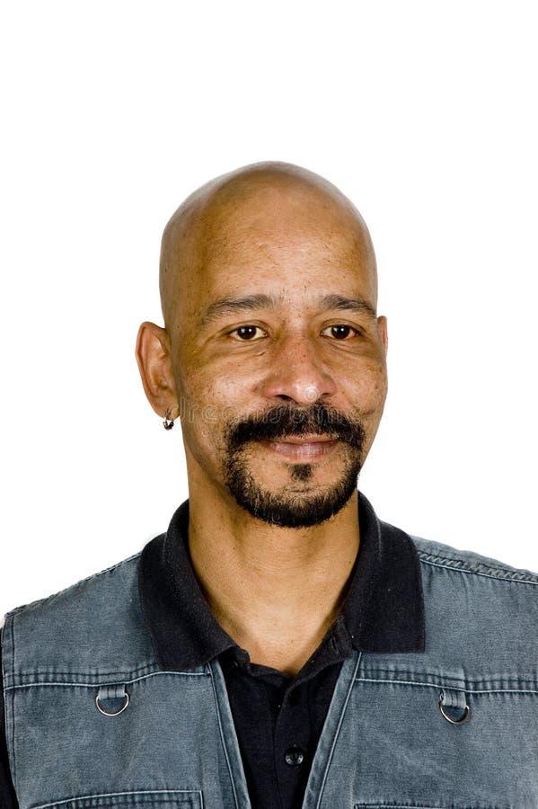 amerykański mężczyzna miejscowego portret zdjęcie stock