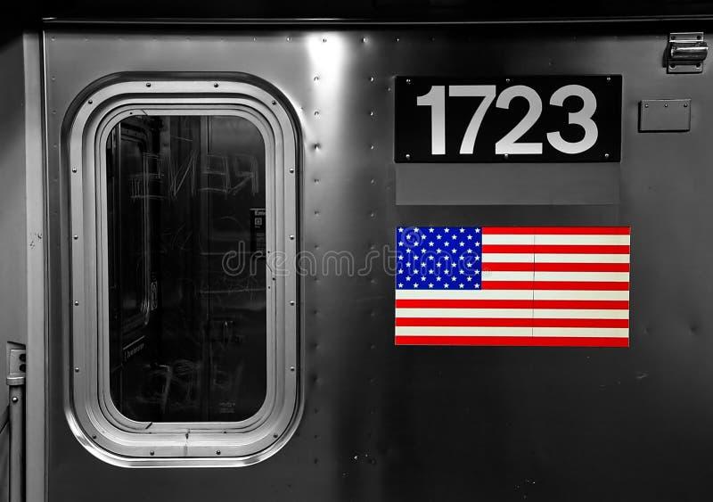 amerykański metro obrazy royalty free
