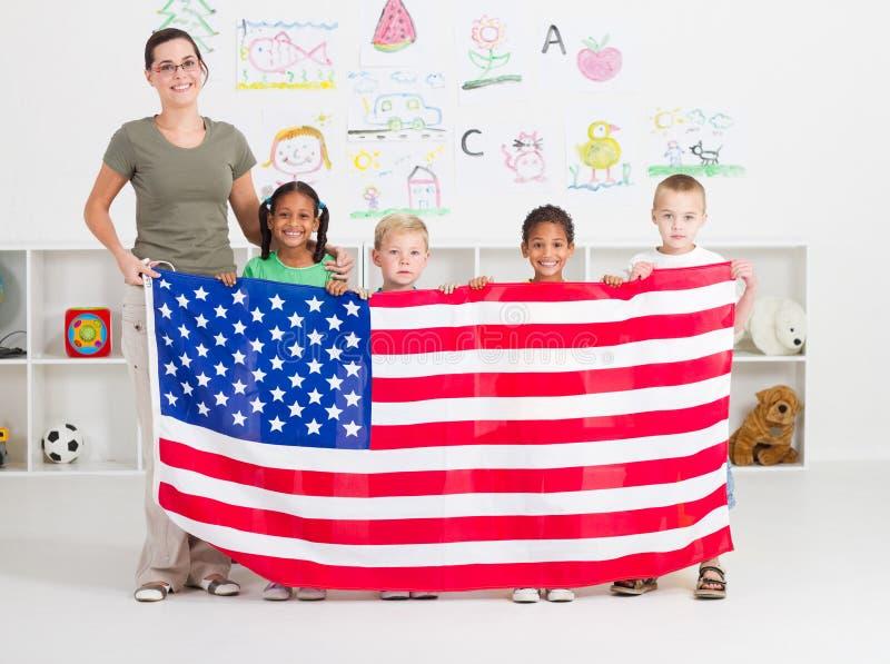 amerykański preschool fotografia royalty free
