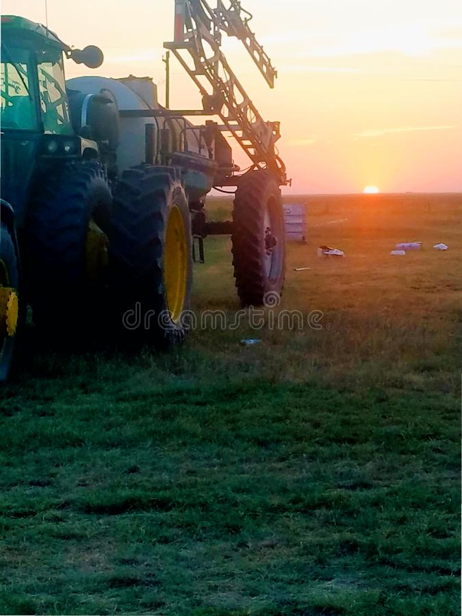 AMERYKAŃSKI rolnik obraz stock