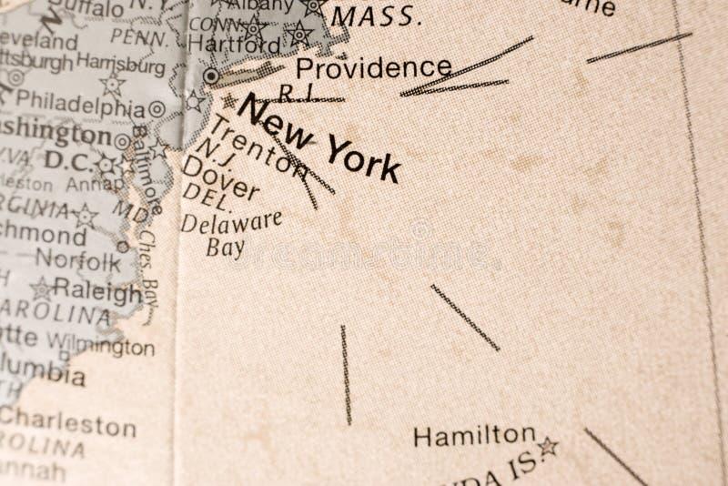 amerykański wybrzeże na wschód zdjęcie stock