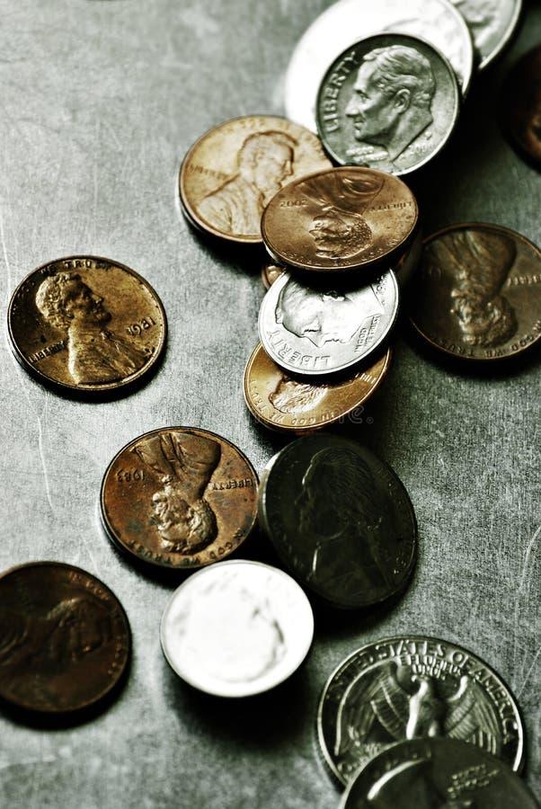 amerykańskie pieniądze fotografia stock