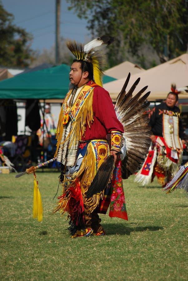 Amerykańsko-indiański Pow no! no! zdjęcia royalty free