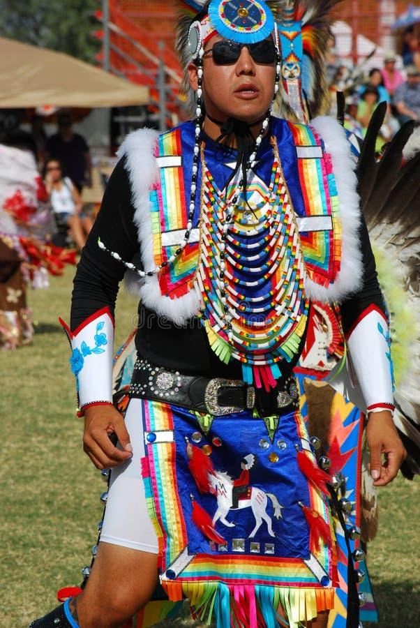 Amerykańsko-indiański Pow no! no! obrazy stock