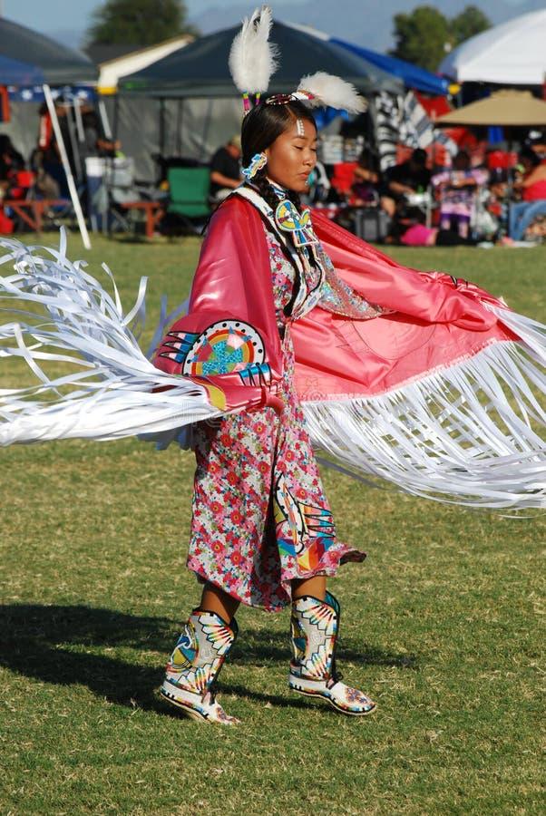 Amerykańsko-indiański Pow no! no! obraz royalty free
