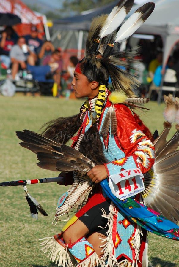 Amerykańsko-indiański Pow no! no! fotografia royalty free