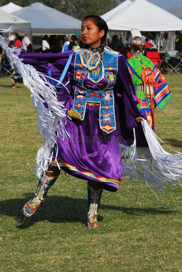 Amerykańsko-indiański Pow no! no! zdjęcia stock