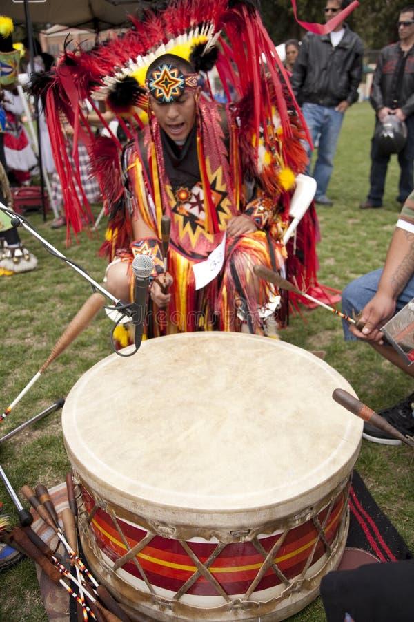 amerykańsko-indiański pow ucla no! no! zdjęcia royalty free