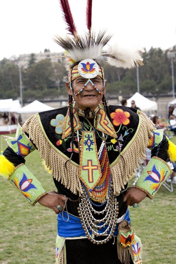 amerykańsko-indiański pow ucla no! no! zdjęcie royalty free