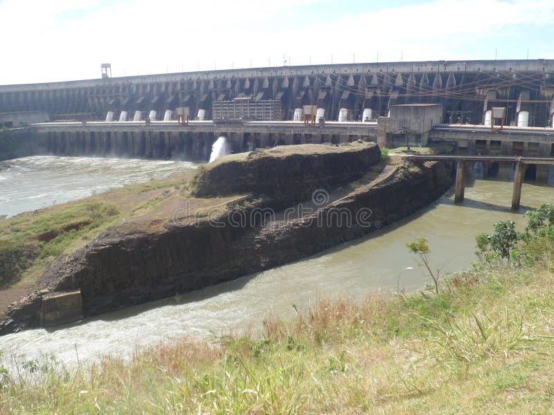 Ameryka hydroelektryczna roślina w południe fotografia royalty free