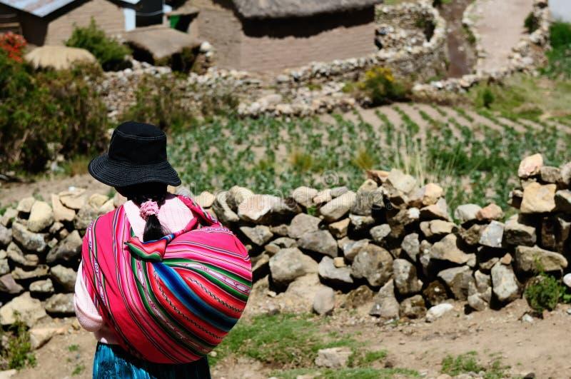 Ameryka Południowa, Boliwijscy ludzie obraz stock