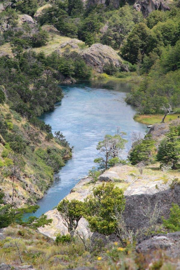 Ameryka Południowa jezioro obraz stock