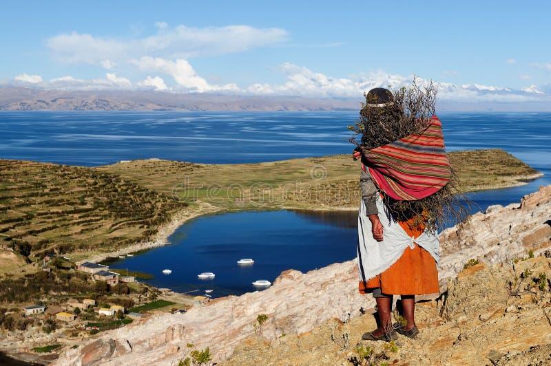 Ameryka Południowa krajobraz obraz royalty free