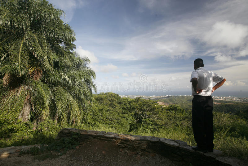 AMERYKA POŁUDNIOWA WENEZUELA ISLA MARGATITA losu angeles ASUNCION krajobraz zdjęcia royalty free