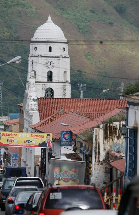 AMERYKA POŁUDNIOWA WENEZUELA TRUJILLO miasteczko fotografia stock