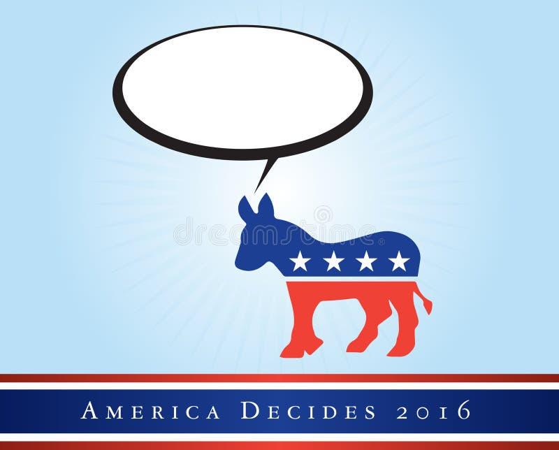 Ameryka 2016 wyborów zdjęcie royalty free