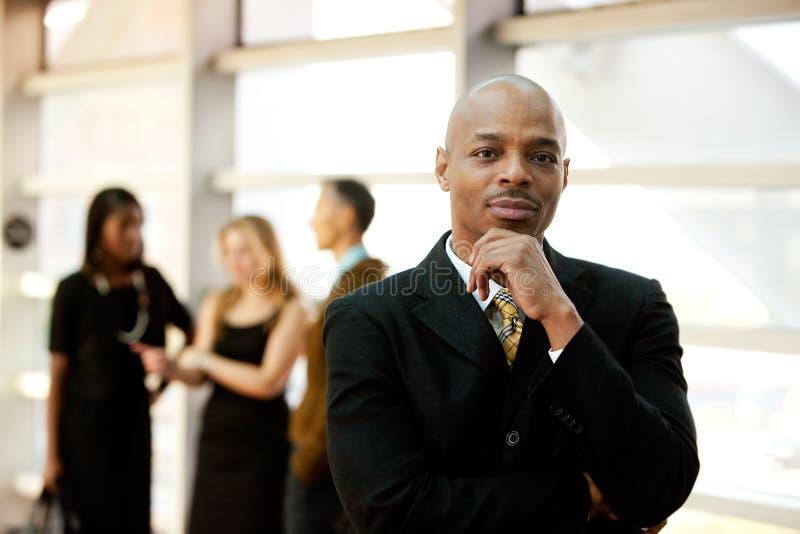 amerykanin afrykańskiego pochodzenia biznes zdjęcia royalty free