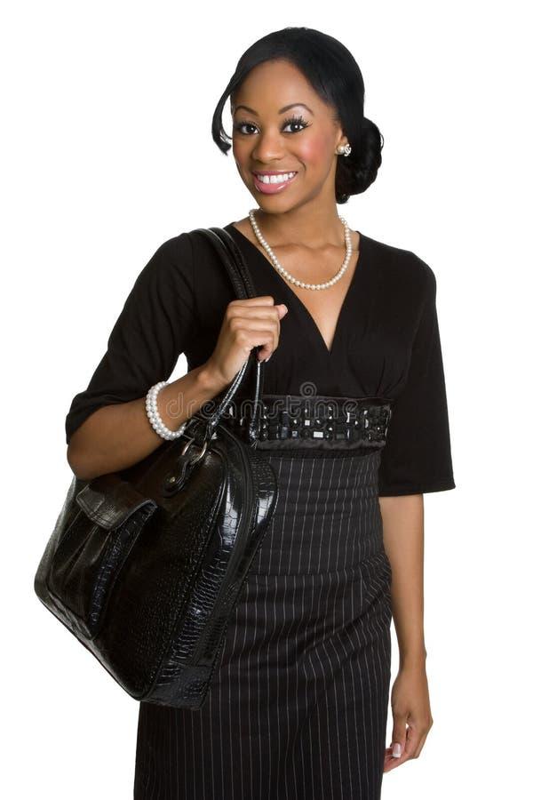 amerykanin afrykańskiego pochodzenia bizneswoman zdjęcia royalty free