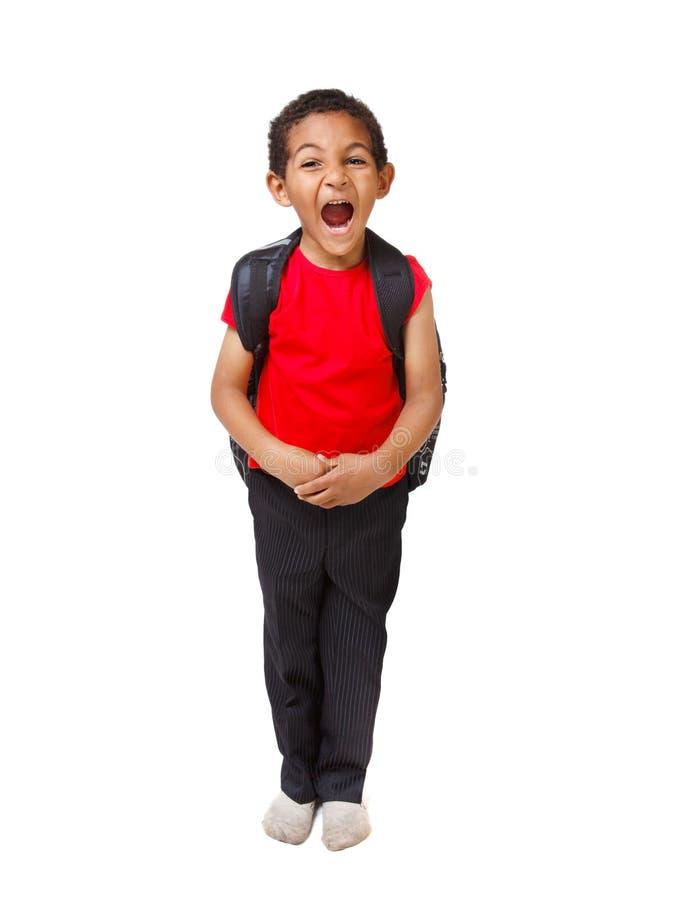 amerykanin afrykańskiego pochodzenia dzieciak zdjęcia royalty free