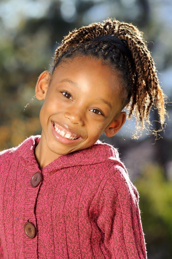 amerykanin afrykańskiego pochodzenia dziecko obrazy royalty free