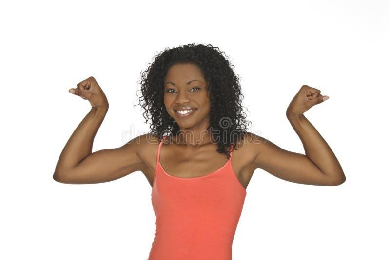 amerykanin afrykańskiego pochodzenia kobieta zdjęcie royalty free