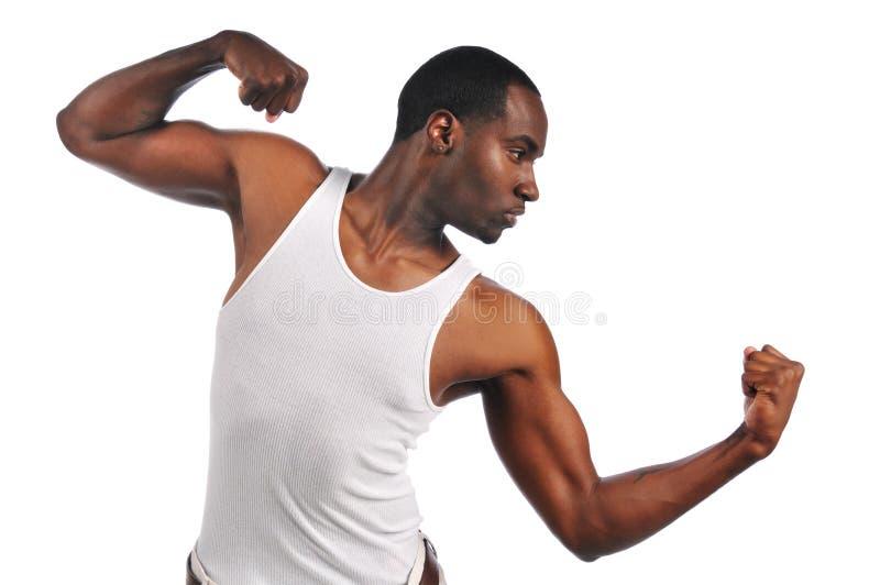 amerykanin afrykańskiego pochodzenia mężczyzna zdjęcia stock