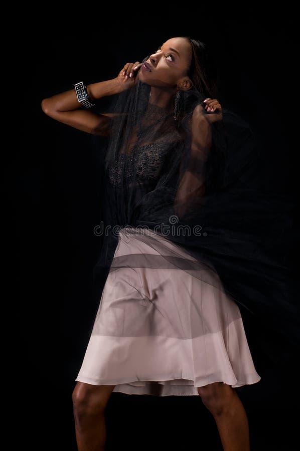 Amerykanin Afrykańskiego Pochodzenia Mannequin zdjęcie royalty free