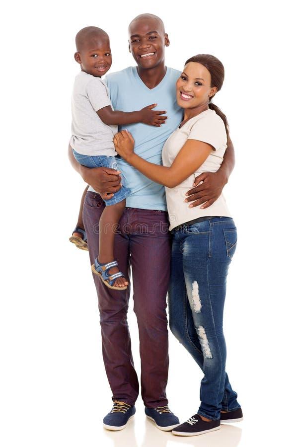 amerykanin afrykańskiego pochodzenia rodzina fotografia royalty free