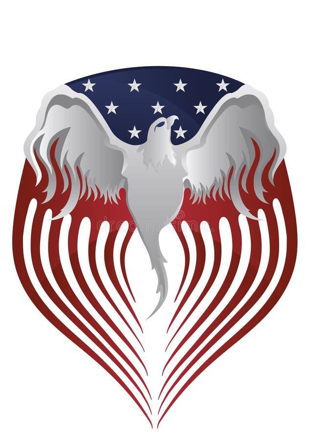 Amerykanin Eagle ilustracji