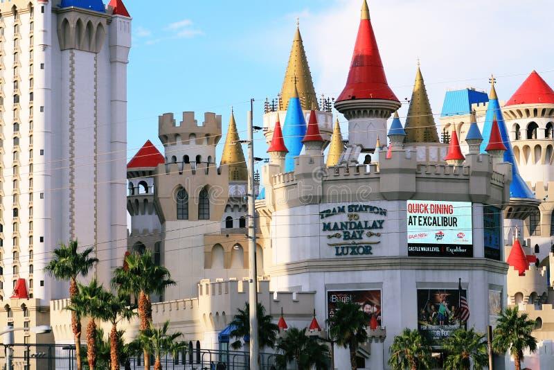 Amerykanin, Nevada, Nigdy Śpi miasto Las Vegas, amerykanin zdjęcie royalty free