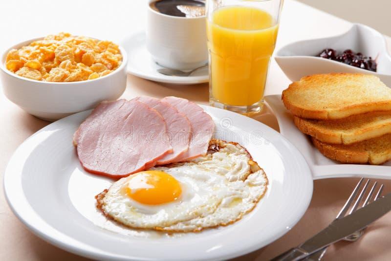 Amerykanina śniadanie zdjęcie royalty free