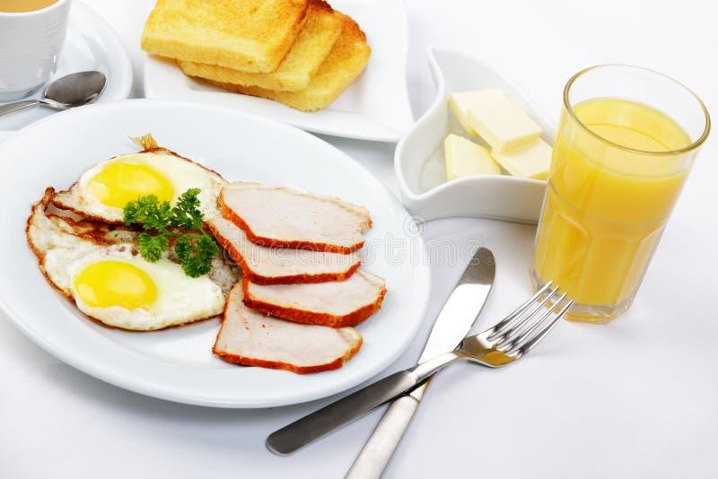 amerykanina śniadanie fotografia stock