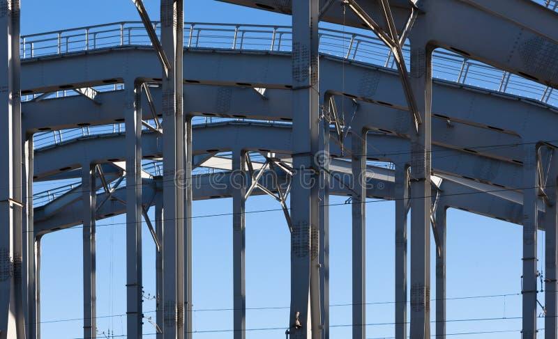 Amerykanina most w terenie Obvodny kanał obrazy royalty free