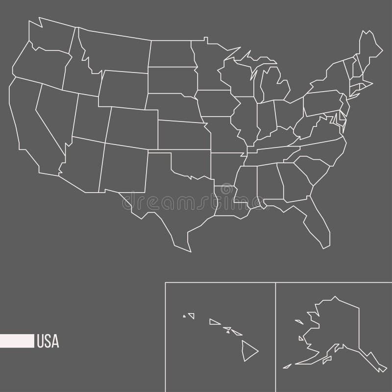 ameryki stany zjednoczone ilustracji