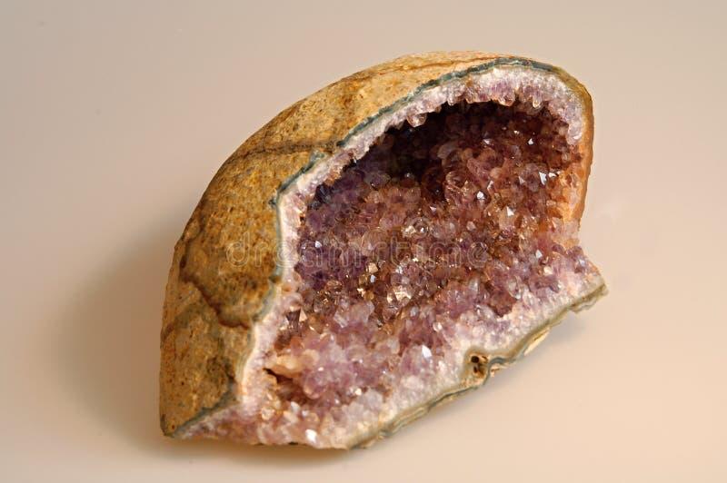 Amethyst stockbilder