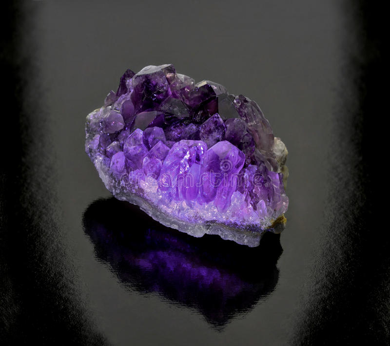 Amethyst royalty free stock photography