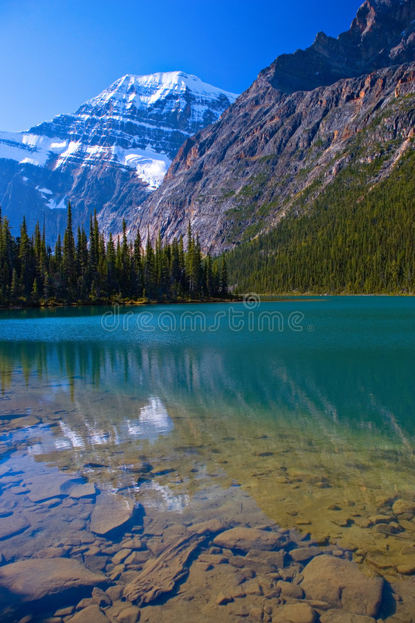 Amethyst Lake royalty free stock images