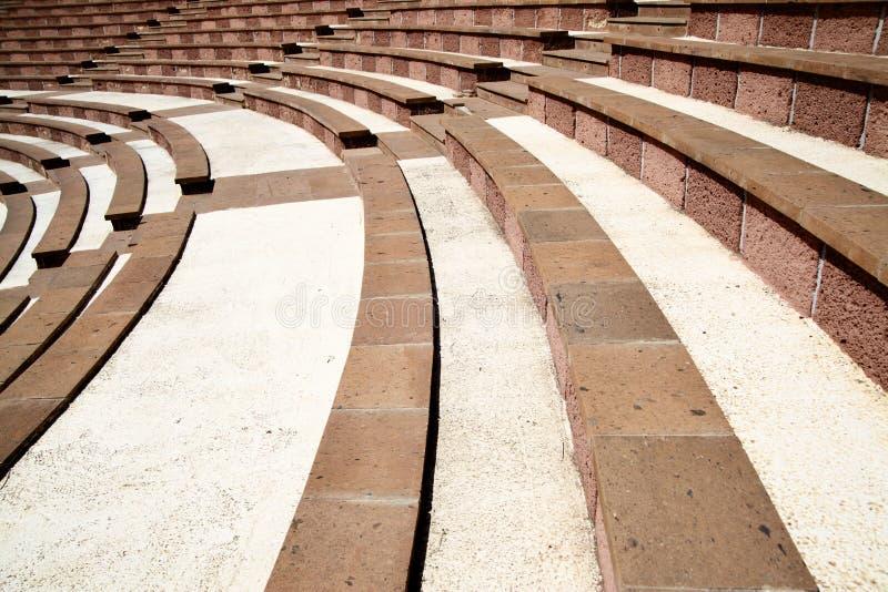 Amfiteater Arkivfoton