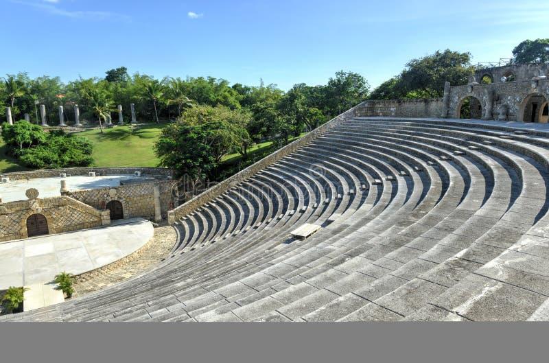 Amfiteatr, Alt De Chavon, los angeles Romana, republika dominikańska zdjęcia stock