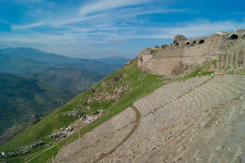 Amfiteatr przy Pergamon obrazy royalty free